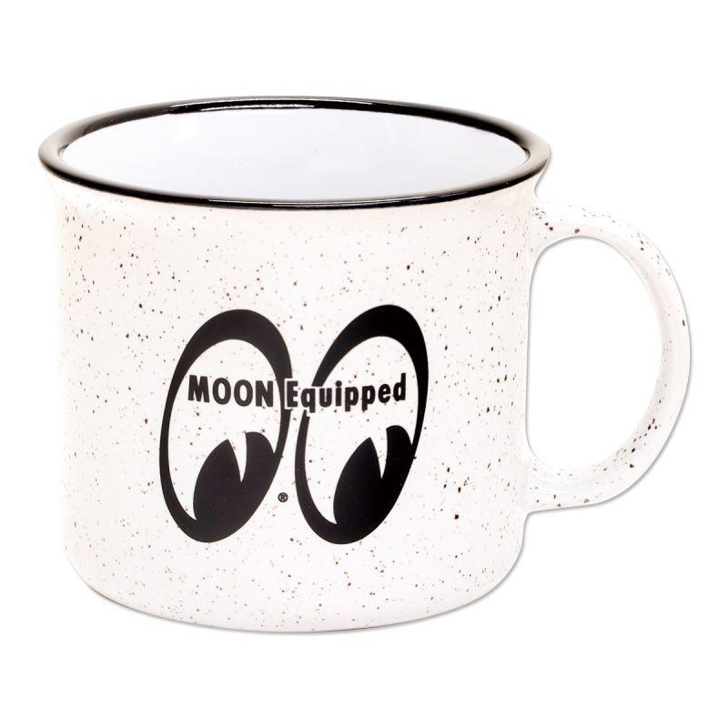 MOONEYES - MQG174 大容量 馬克杯 / 微波湯杯 (白色)