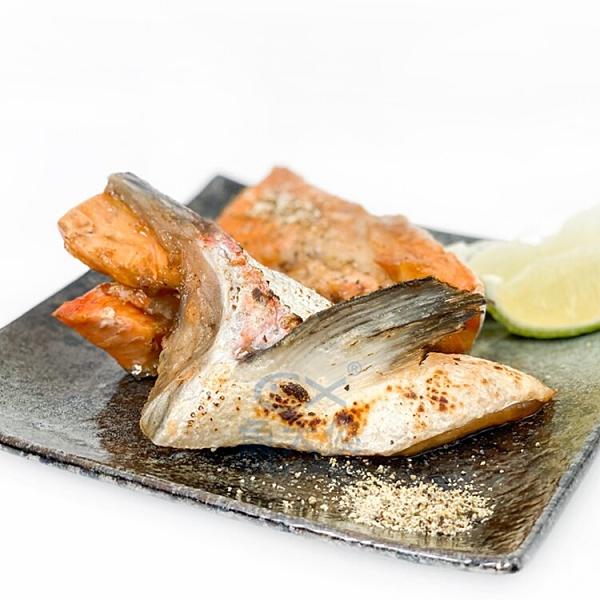 1F6A【魚大俠】FH286美味鮭魚下巴(500g±10g/包)#黑袋下巴