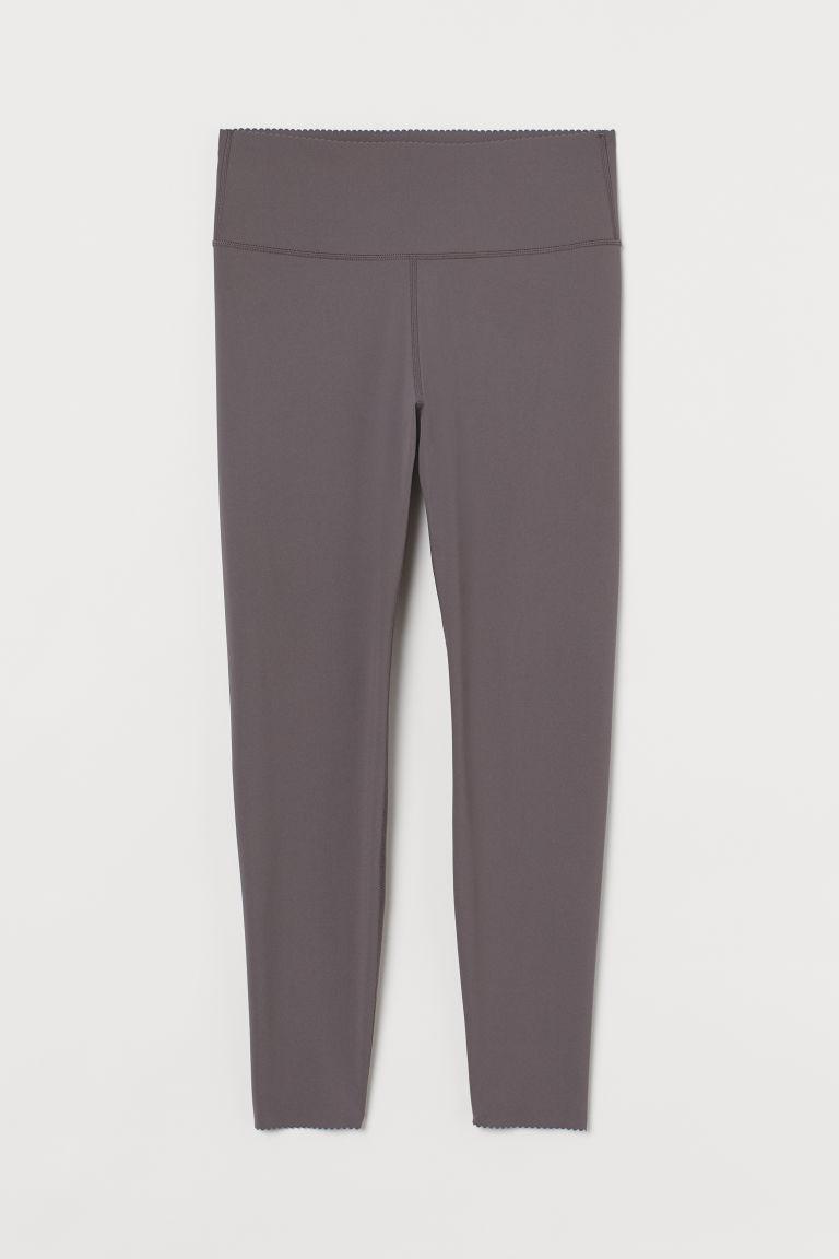 H & M - H & M+ 高腰緊身塑身褲 - 灰色