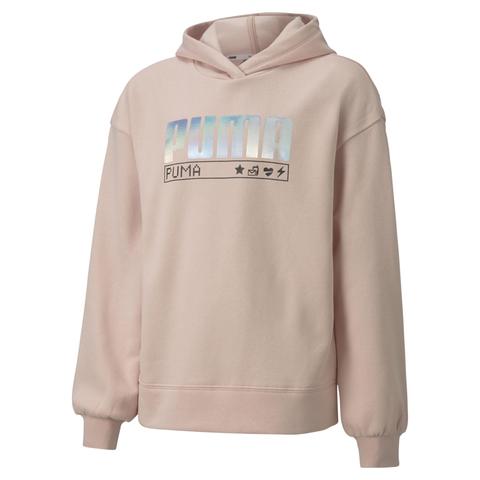 PUMA  Alpha長厚連帽T恤(G)