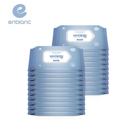 韓國ENBLANC 濕式衛生紙-一般型無蓋10抽/20包