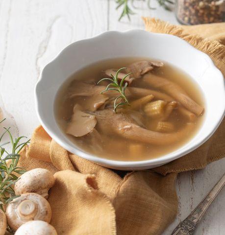 家‧溫度 多種菇牛肝菌菇燉湯(五辛素)