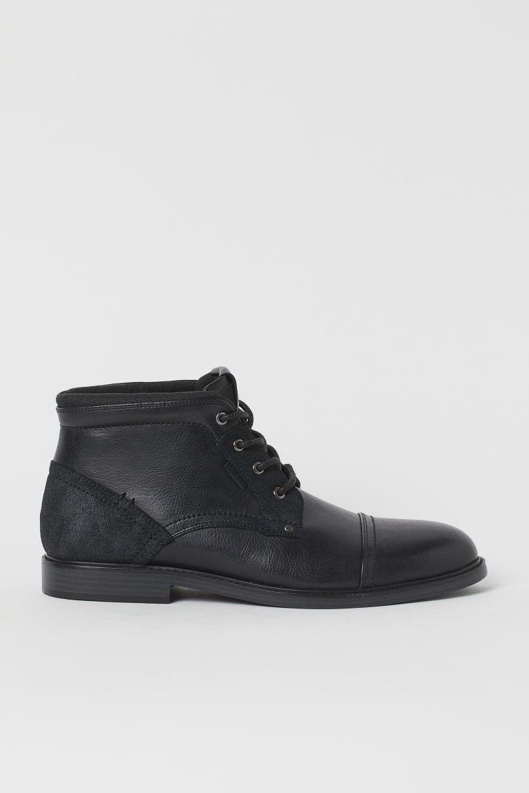 H & M - 馬球靴 - 黑色