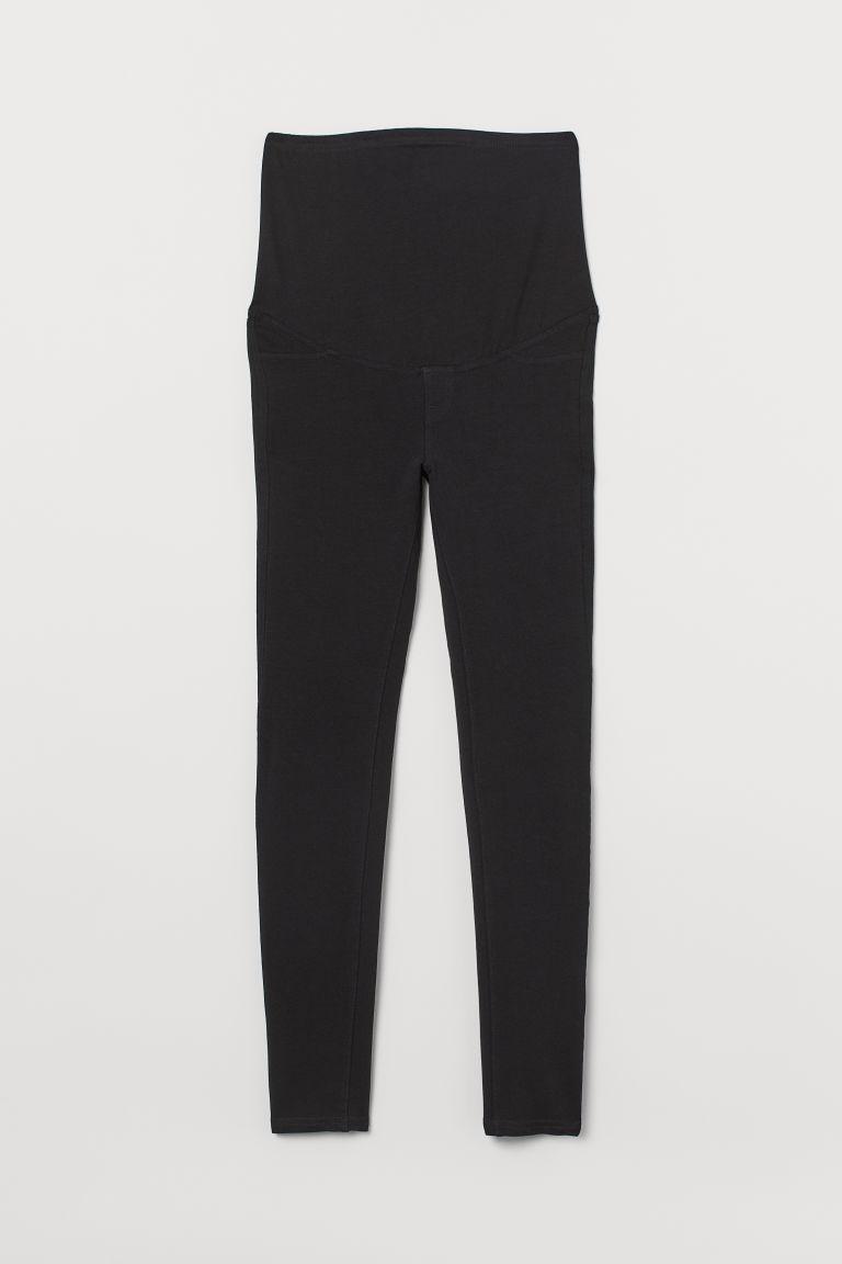 H & M - MAMA 緊身褲 - 黑色