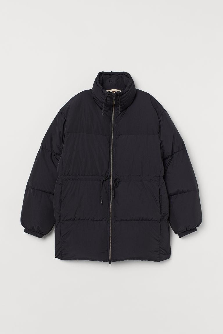 H & M - 羽絨外套 - 黑色