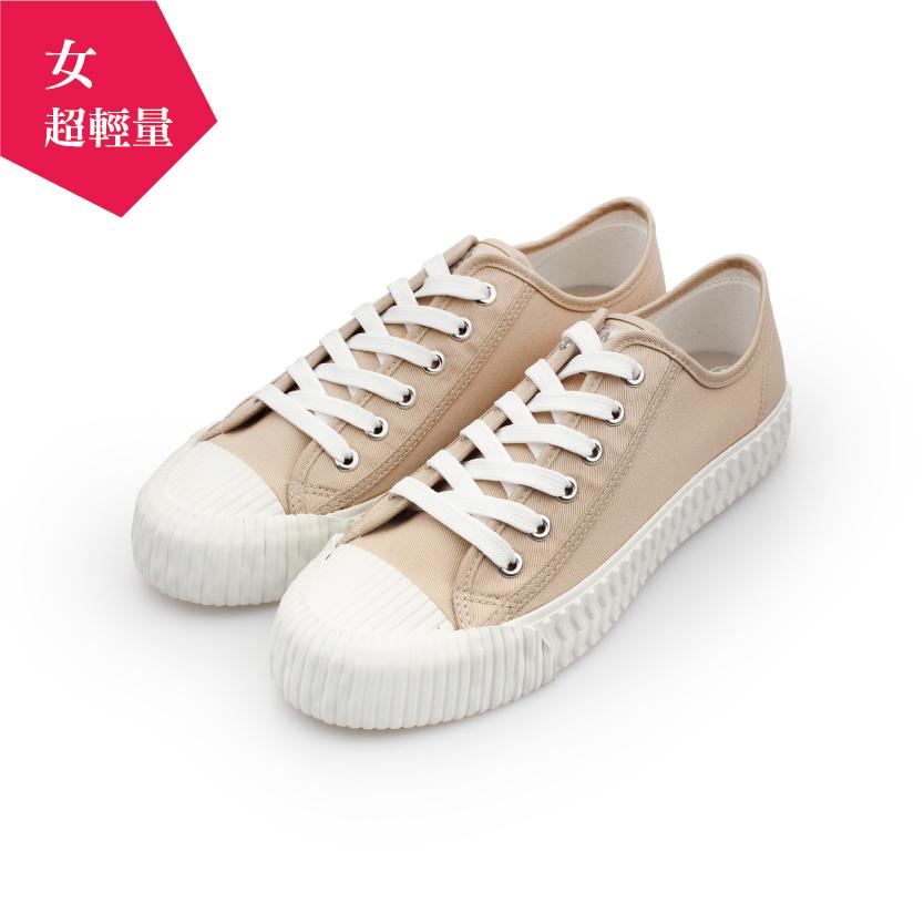 【A.MOUR 經典手工鞋】輕巧輕履女鞋 - 香醇奶茶(6808)