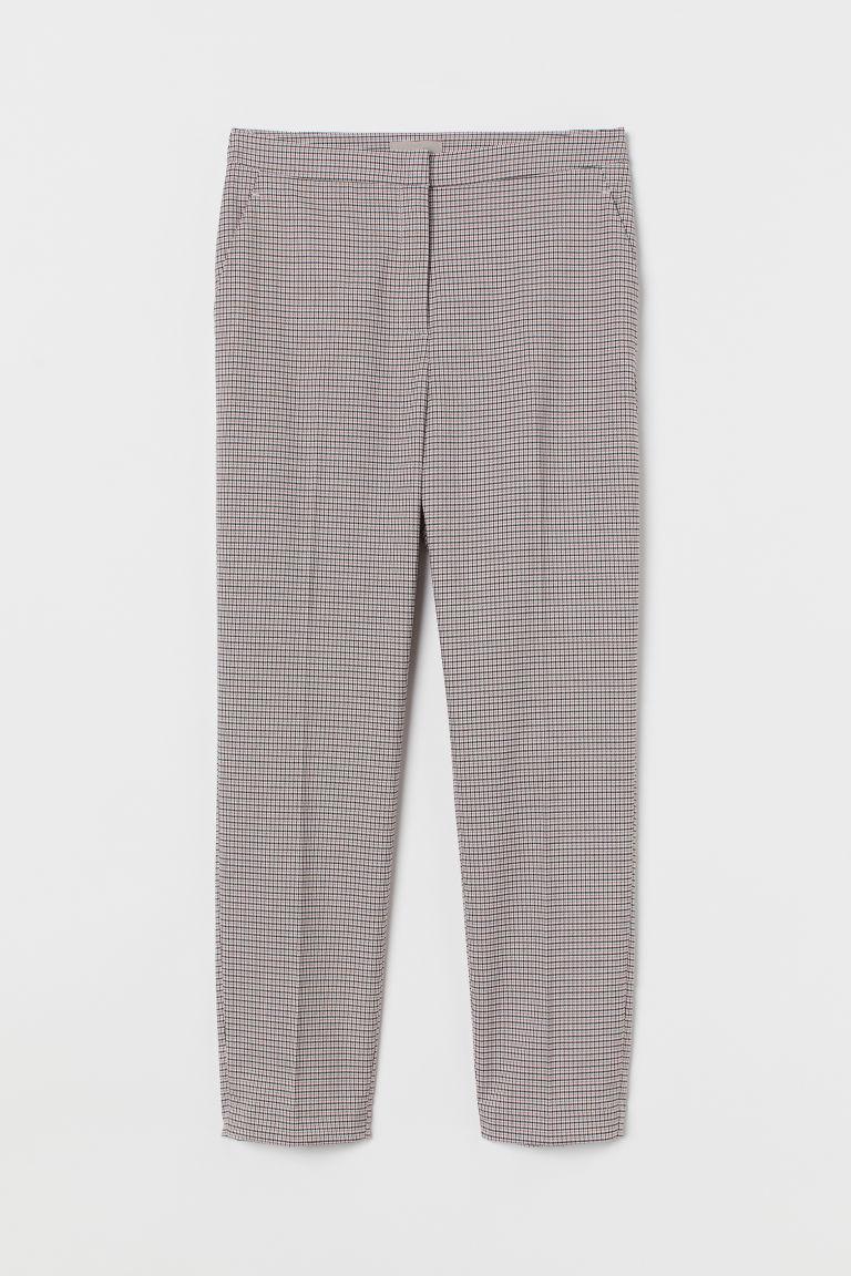 H & M - 煙管褲 - 粉紅色