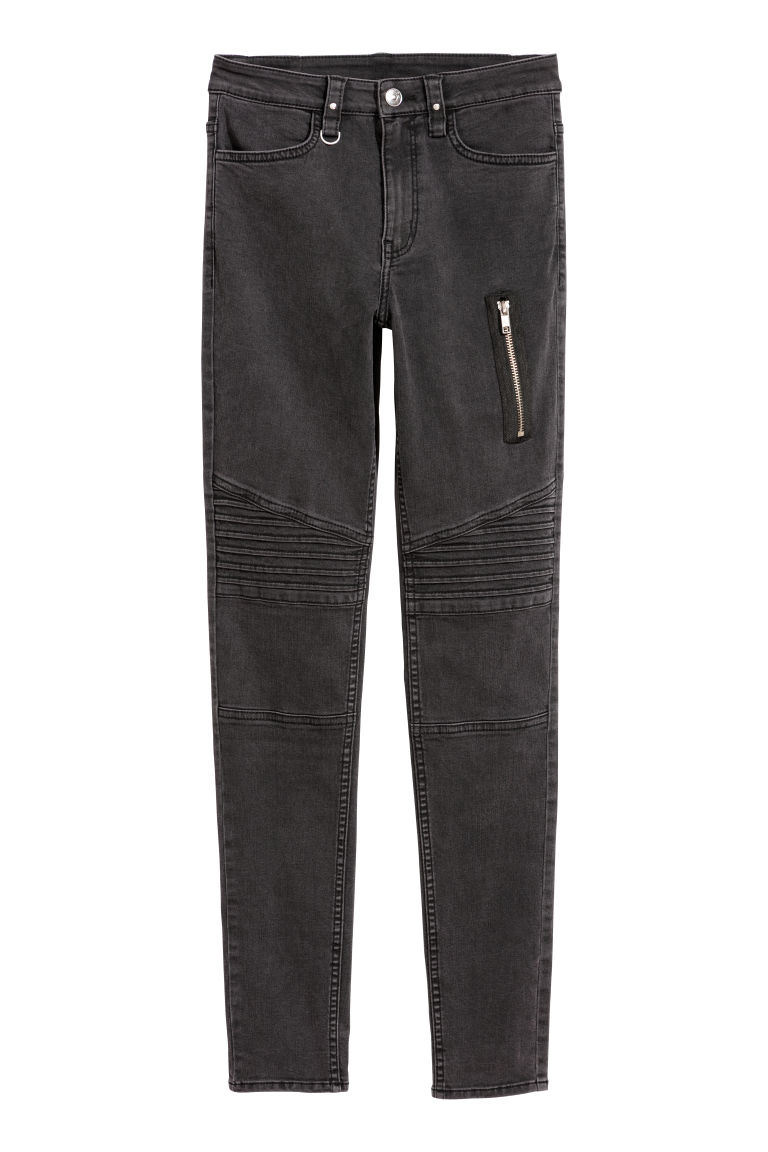 H & M - 騎士長褲 - 黑色