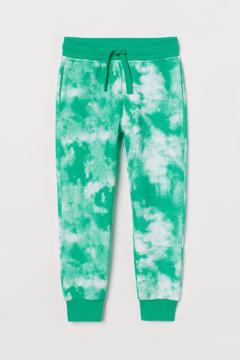 H & M - 慢跑褲 - 綠色