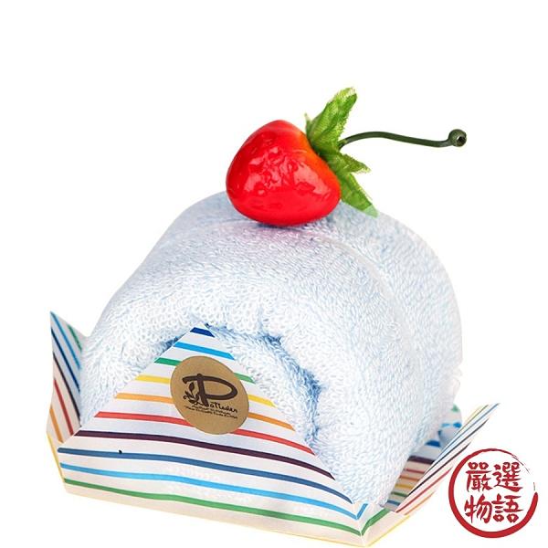 【日本製】【Le patissier】日本製 今治毛巾 蛋糕捲造型 薄荷色 SD-4034 - 日本製 今治毛巾
