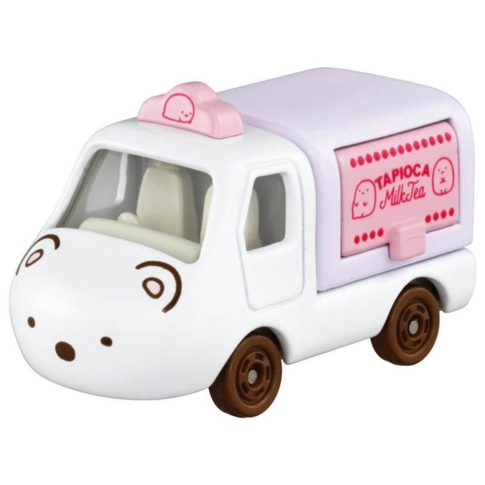 TOMICA DEARM 白熊小貨車(珍珠奶茶店)_TM17001 多美小汽車