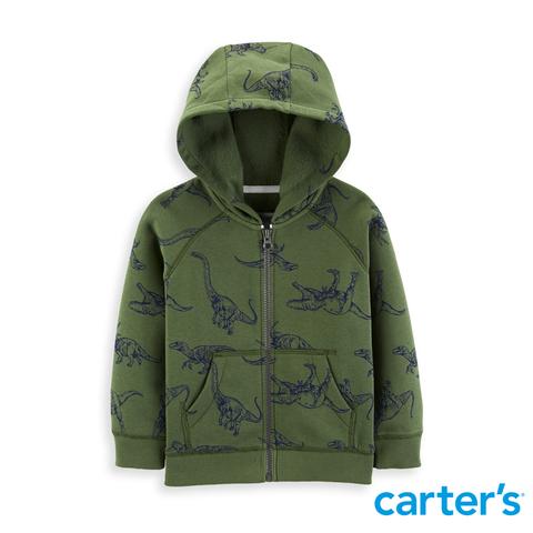 Carter's 台灣總代理 - 恐龍滿版印圖連帽外套
