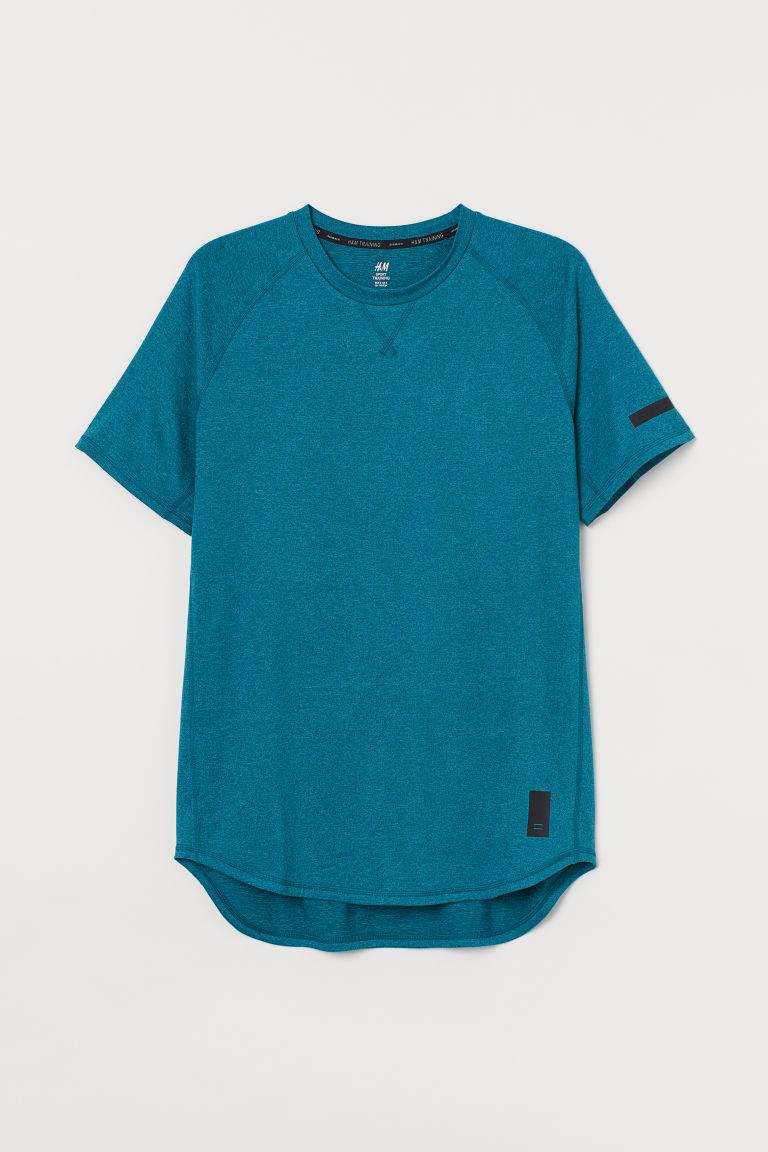 H & M - 寬鬆運動上衣 - 藍綠色