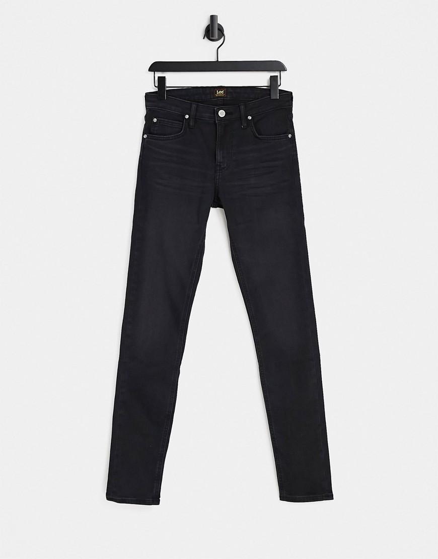 Lee Malone skinny fit jeans in raven black