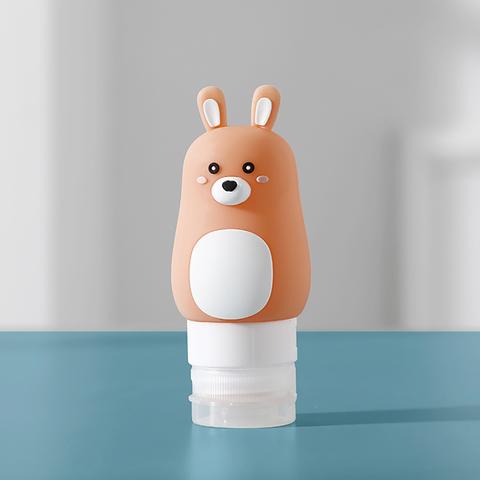 *造型旅行分裝瓶-兔