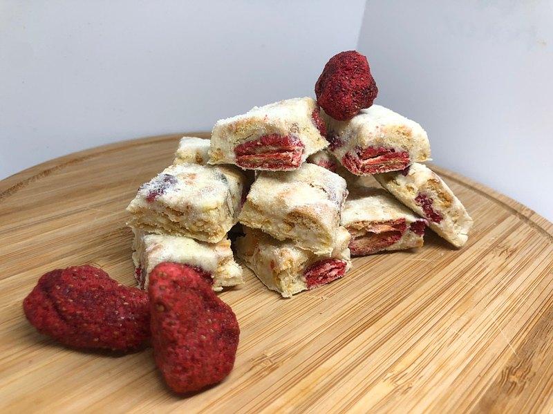 雪Q餅雪花餅 草莓雪Q餅 雪花酥 蔓越莓雪Q餅 精緻盒裝 精巧袋裝