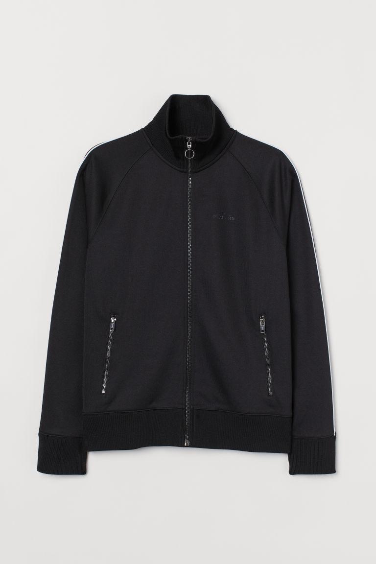 H & M - 平紋外套 - 黑色
