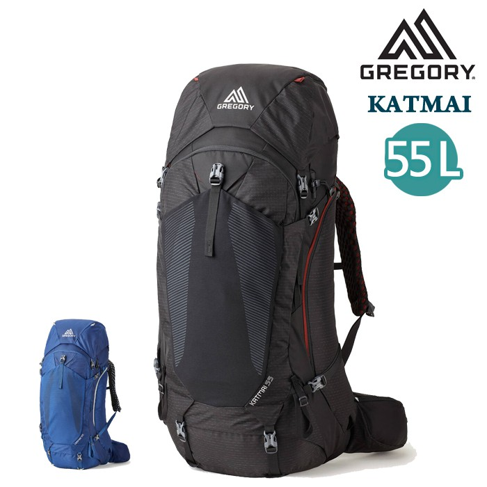 Gregory 美國 男款 2色 KATMAI 55L 登山後背包 旅行 攀登背包 M/L GG137237 綠野山房