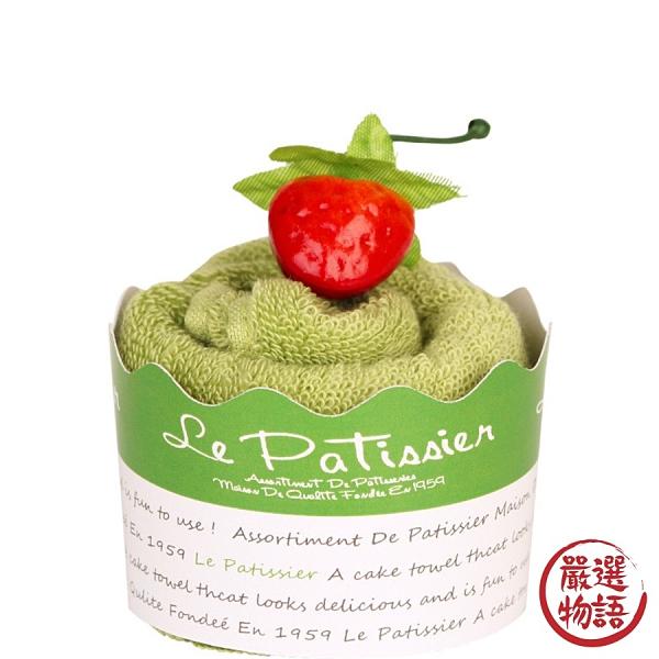 【日本製】【Le patissier】日本製 今治毛巾 杯子蛋糕造型 抹茶綠 SD-3972 - 日本製 今治毛巾