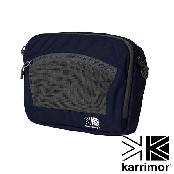 【karrimor】Trek carry front bag多用途胸前包 3L『午夜藍』53614TCFB 戶外 休閒 運動 背包 腰包 收納包