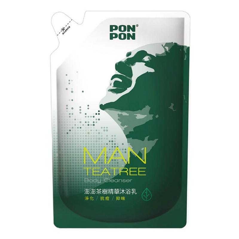 澎澎茶樹精華沐浴乳補充包700g