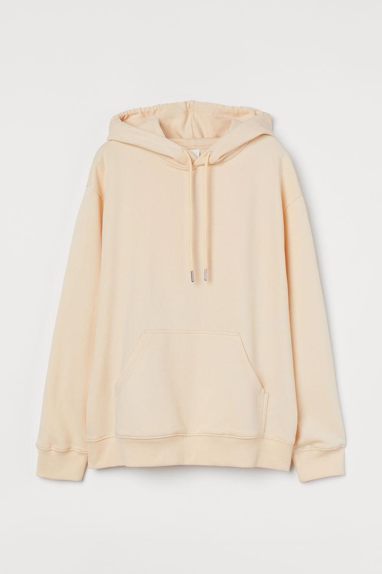 H & M - 連帽上衣 - 米黃色
