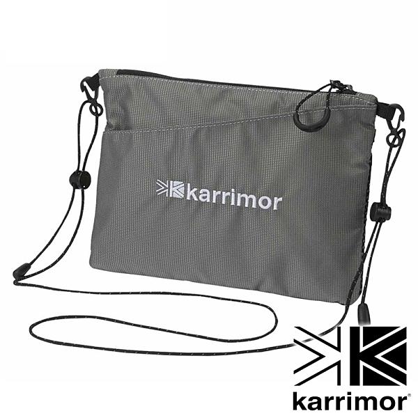 【karrimor】Dual sacoche 斜背包 1.2L『灰』53619DS 戶外 休閒 運動 露營 登山 背包 腰包 收納包