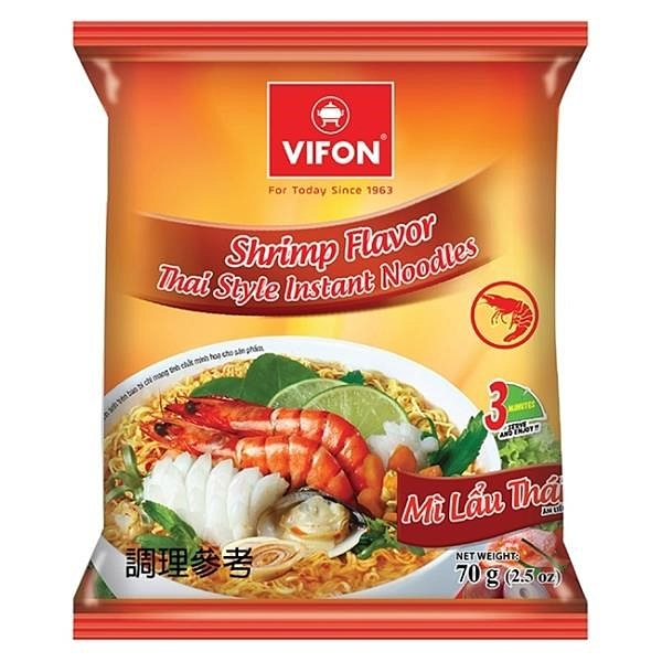 【南紡購物中心】【VIFON味豐】越南味豐 經典泡麵組 10包/組