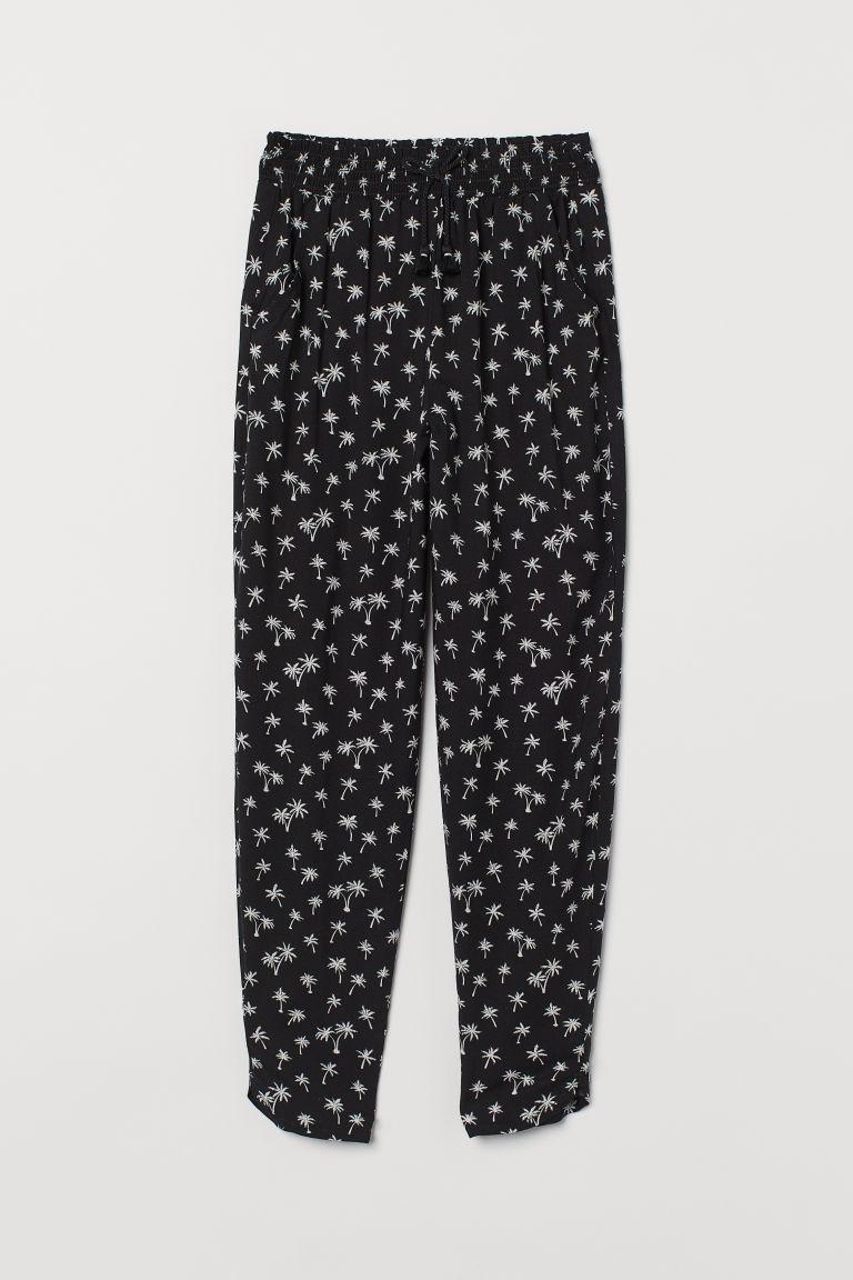 H & M - 長褲 - 黑色