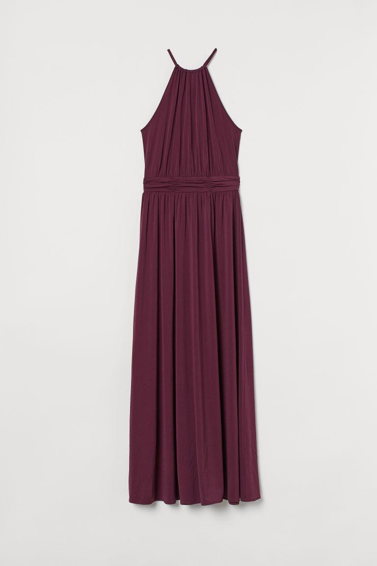 H & M - 細肩帶長洋裝 - 粉紅色