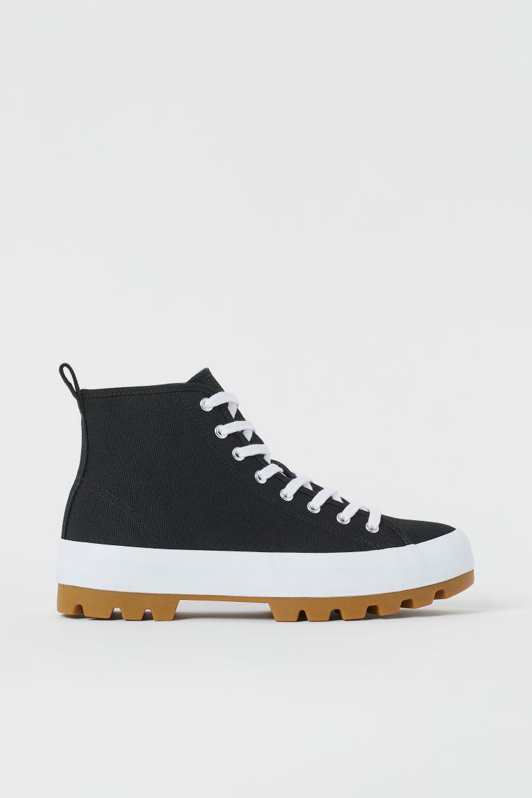 H & M - 運動靴 - 黑色