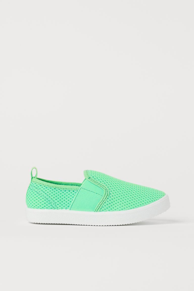 H & M - 懶人鞋 - 綠色