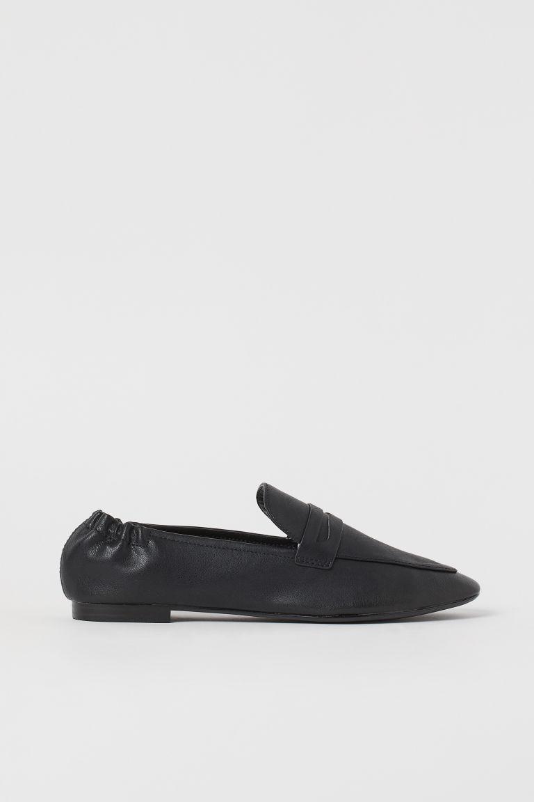 H & M - 樂福鞋 - 黑色