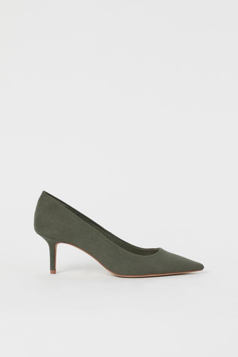 H & M - 淺口鞋 - 綠色