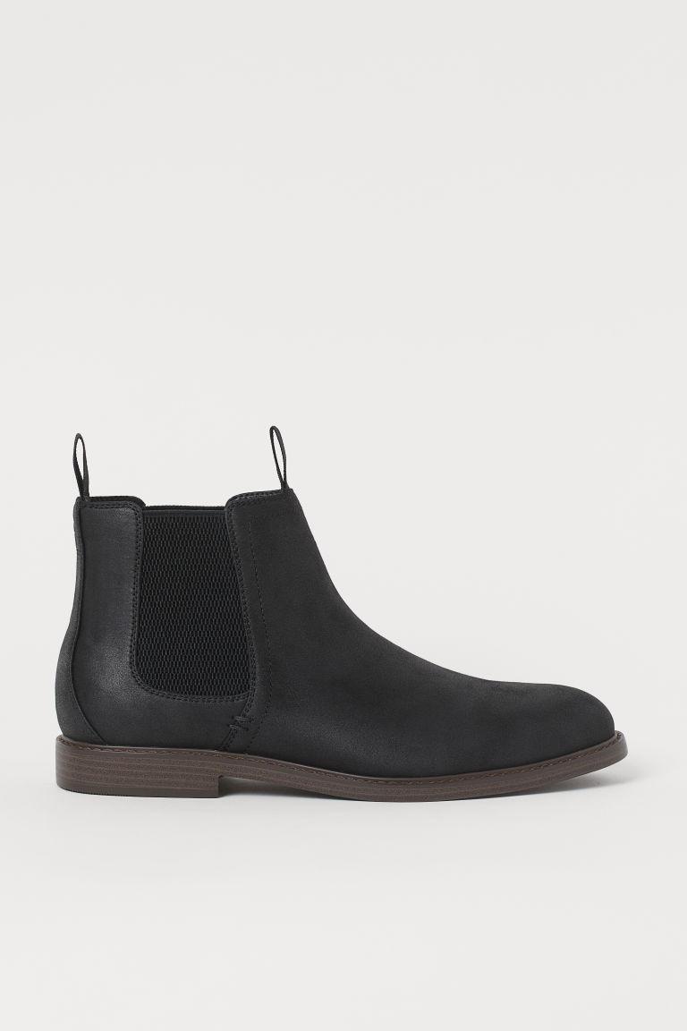 H & M - 切爾西靴 - 黑色