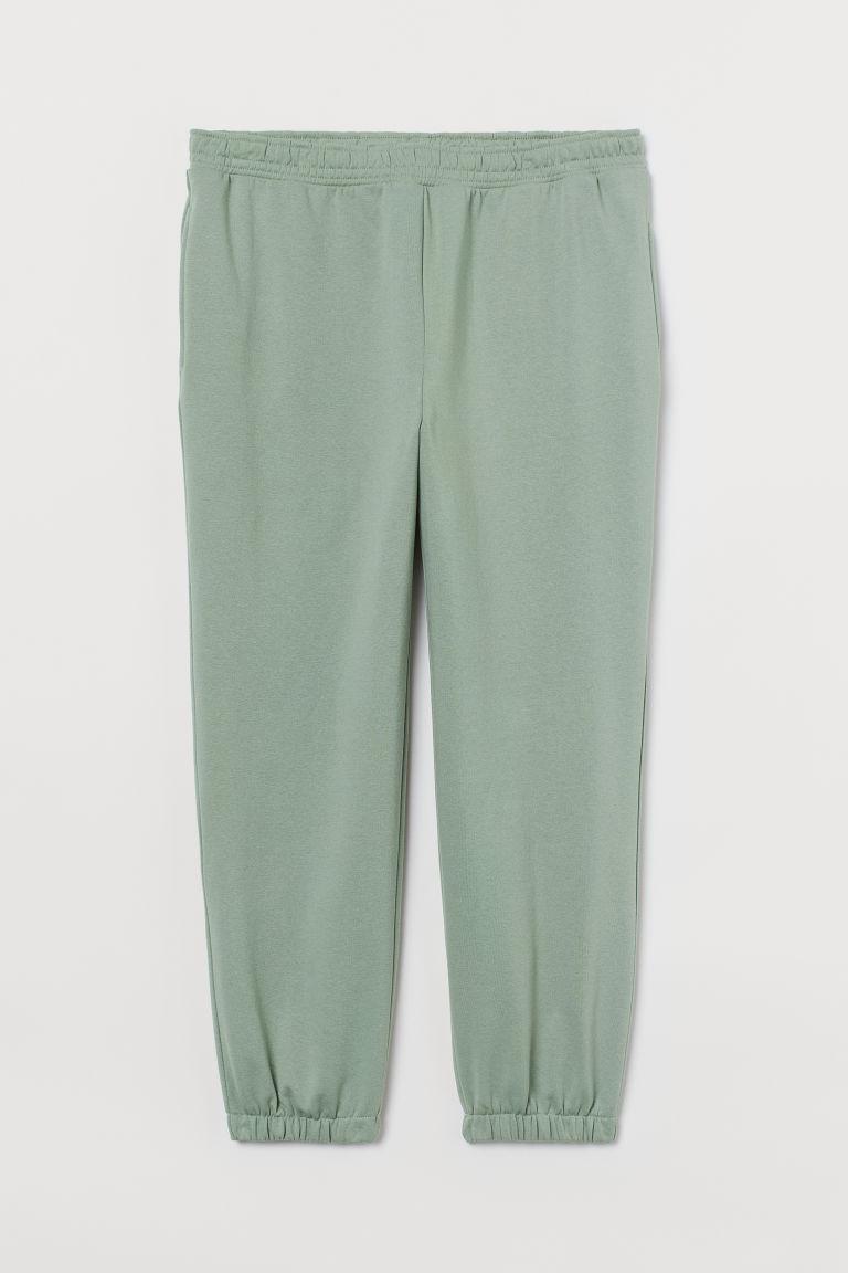 H & M - H & M+ 慢跑褲 - 綠色