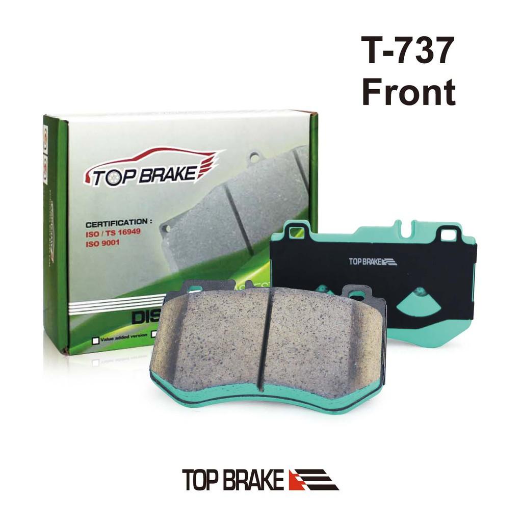 TOPBRAKE 賓士BENZ C-Class (W205) C180 C200 C220 汽車前碟來令片 T-737