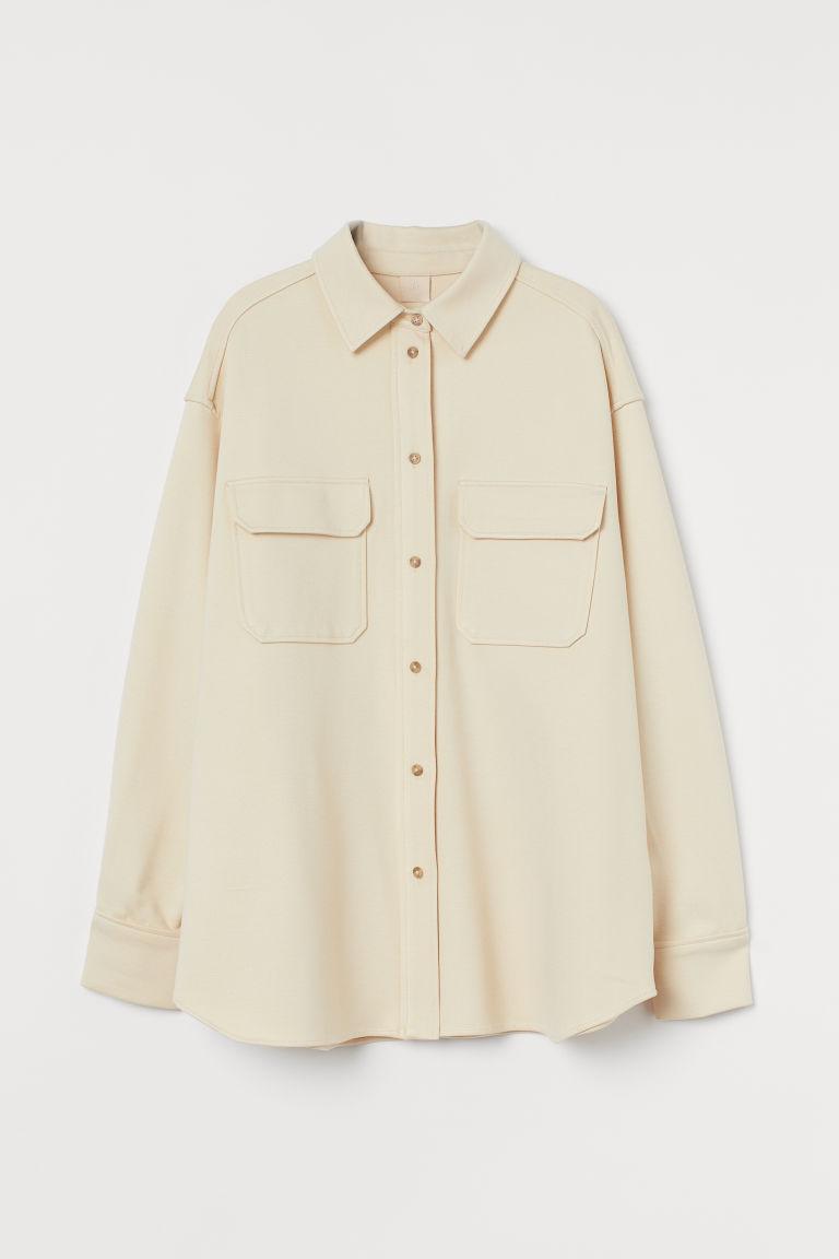 H & M - 襯衫式外套 - 黃色