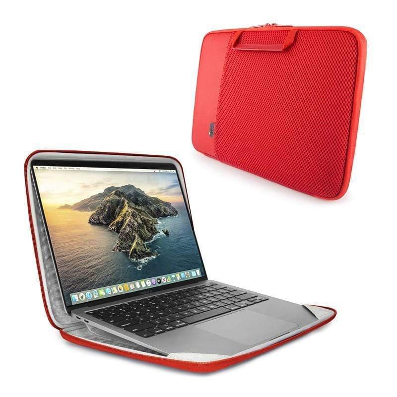 "MacBook Pro & Air 13""(新)-硬殼立架筆電包/電腦包 / ARIA 13"" Smart Sleeve-焰火紅/(含Pro 2017, Air 2018以後所有版本) FLAME R"