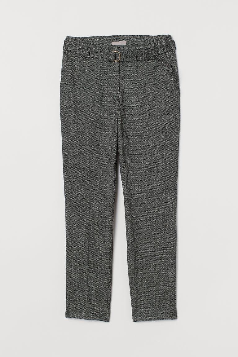 H & M - 九分褲 - 灰色