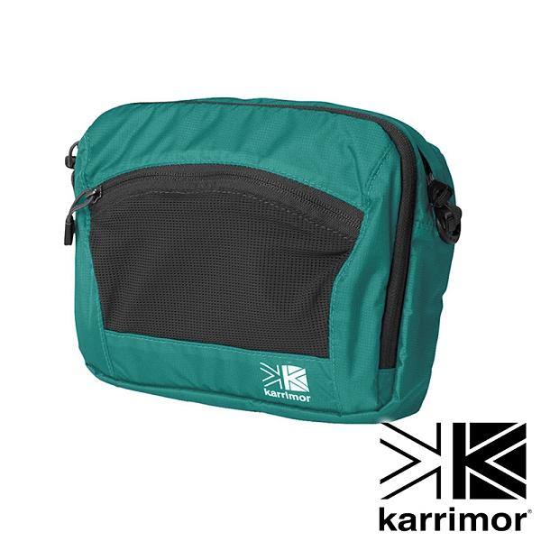 【karrimor】Trek carry front bag多用途胸前包 3L『冰藍』53614TCFB 戶外 休閒 運動 背包 腰包 收納包