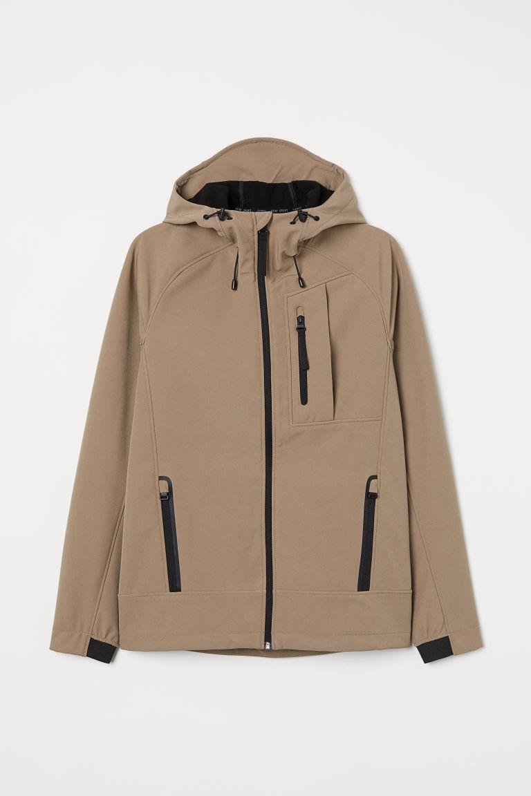 H & M - 保暖外套 - 米黃色