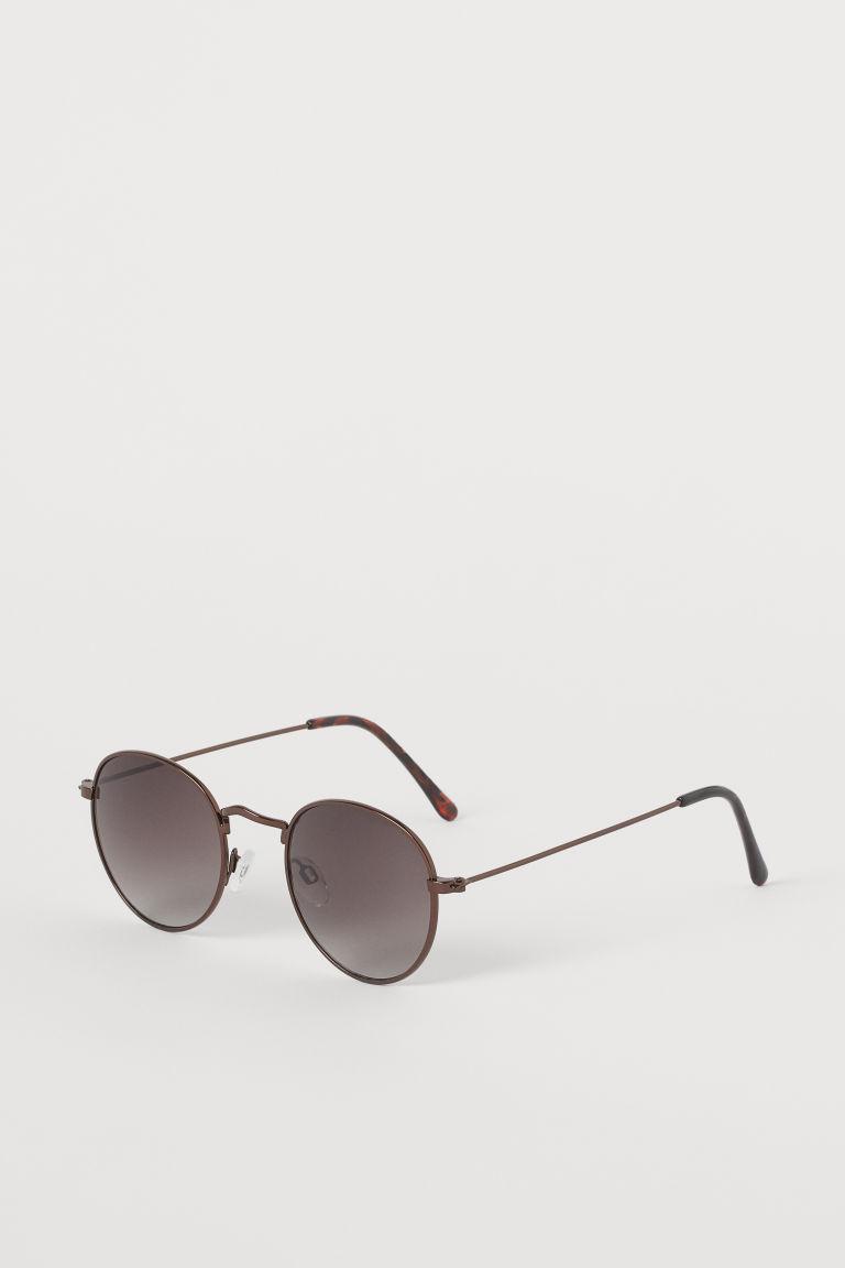 H & M - 太陽眼鏡 - 米黃色