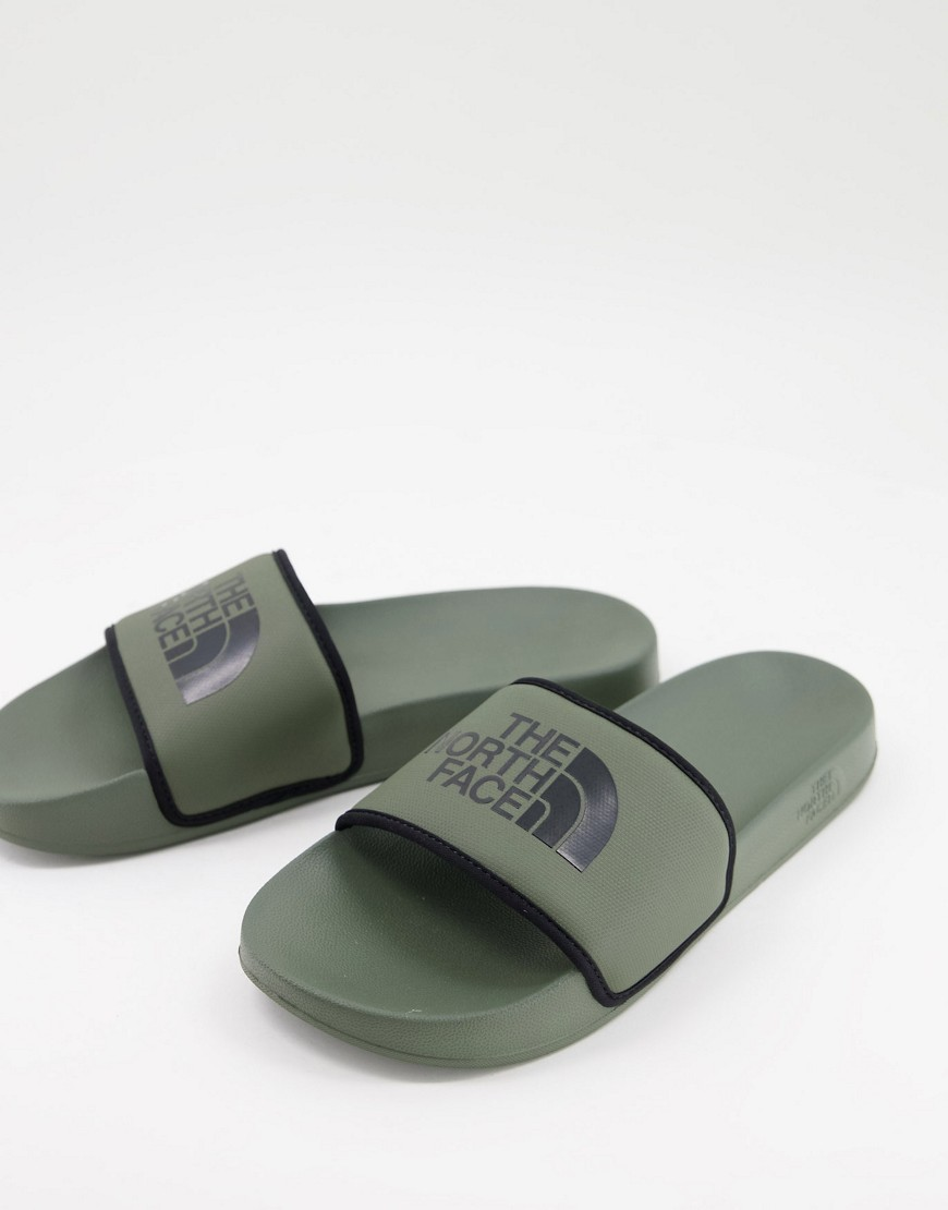 The North Face Base Camp sliders in green