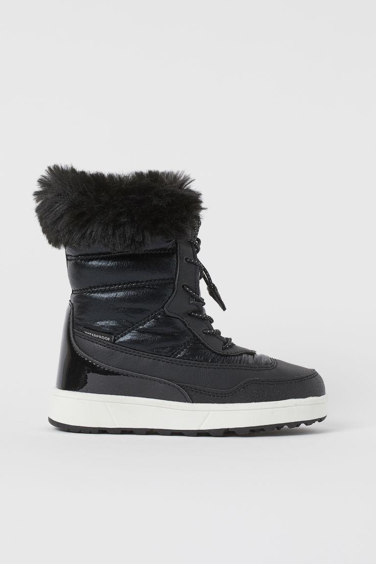H & M - 防水冬靴 - 黑色