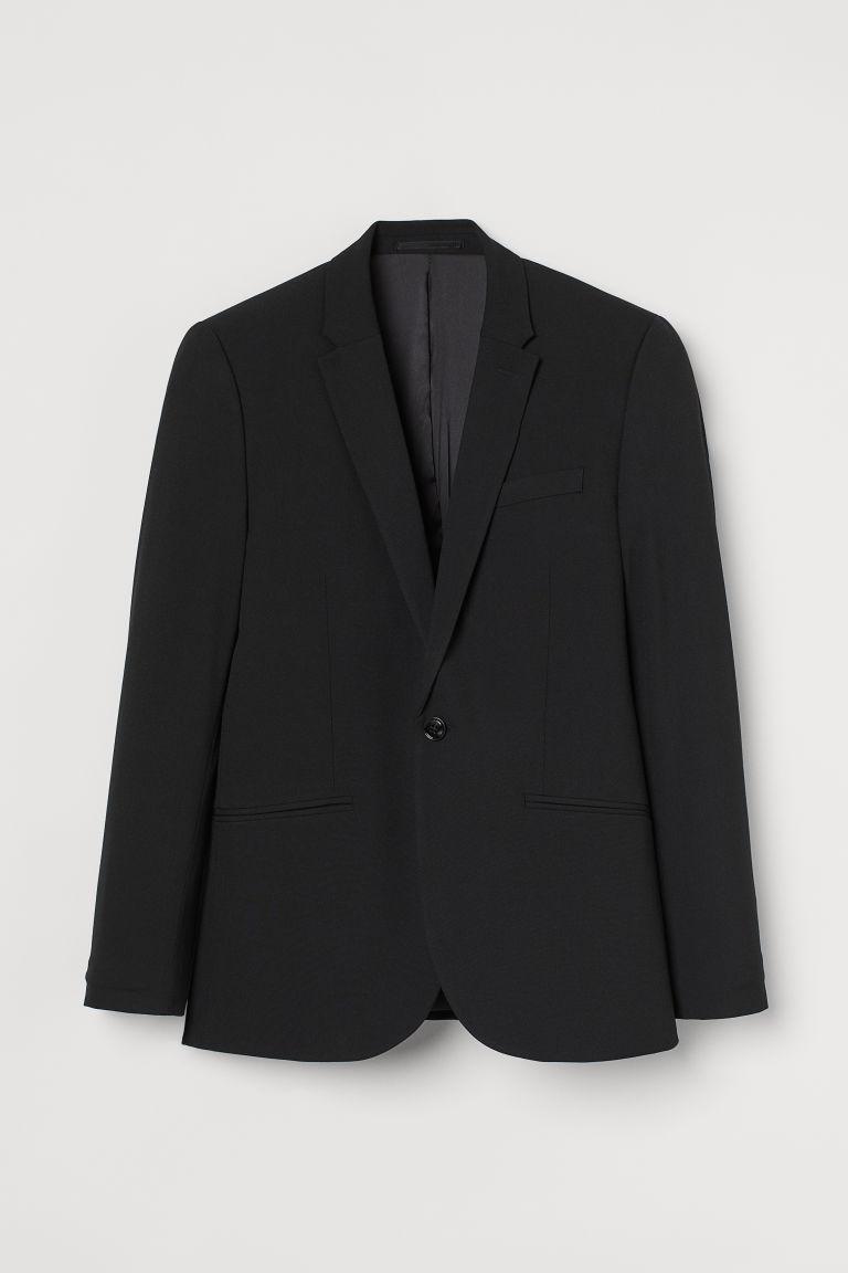H & M - 超緊身外套 - 黑色