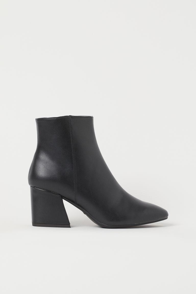 H & M - 靴子 - 黑色