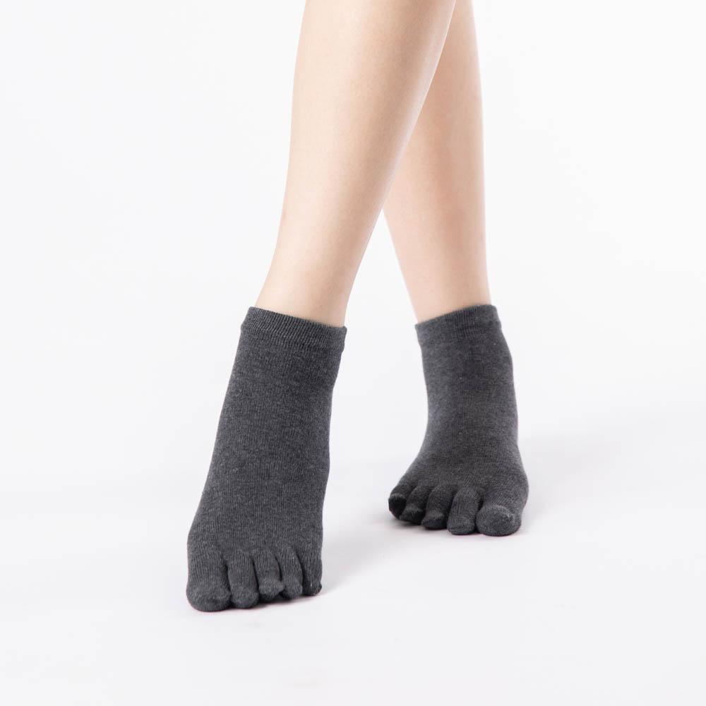 短筒五趾襪-灰色 (商品編號:S0300213)