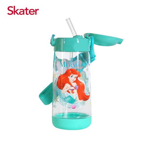 Skater PET吸管水壺(480ml)小美人魚