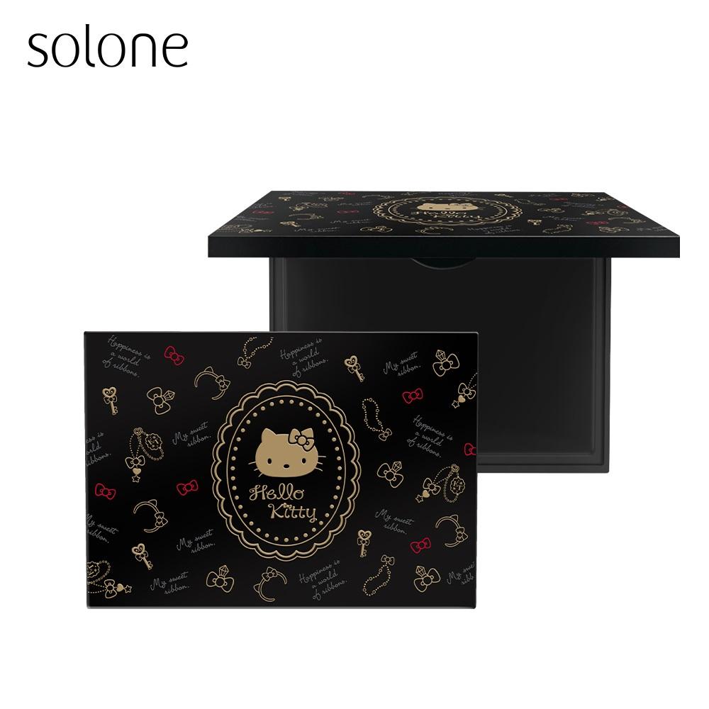 【自組玩拼妝66折up】Solone Hello Kitty 彩妝倉庫收納盒 限量版 (24unit)